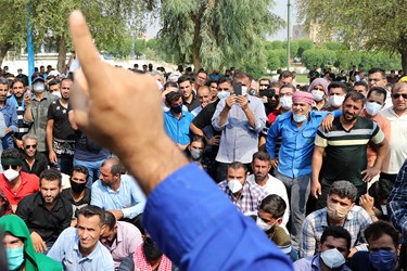 تجمع کارگران شرکت نیشکر هفت تپه