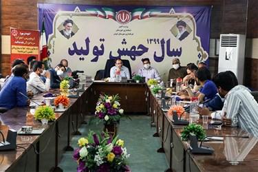 گفتگوی جمعی از کارگران شرکت نیشکر هفت تپه بااعضای کمیسیون اصل90 مجلس