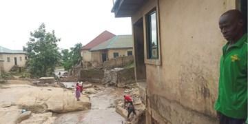 عکس | سیل در نیجریه حداقل ۳۰ کشته بر جا گذاشت