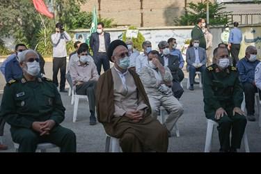 آیین کلنگ زنی ساخت ورودی اداره کل حفظ آثار و نشر ارزش های دفاع مقدس