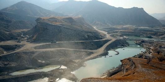 عکس| افتتاح تونل انحرافی آب برای کشاورزان دشتستانی