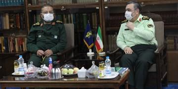 سردار اشتری با رئیس سازمان بسیج مستضعفین دیدار کرد
