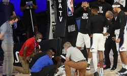 لیگ بسکتبال NBA| مصدومیت شدید بازیکن اورلاندو +عکس