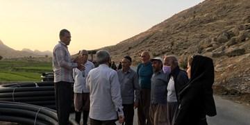 پیگیری فارس نتیجه داد| اهدای لوله مورد نیاز جهت آبرسانی به شالیزارهای شیخ حسین