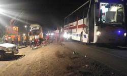 خستگی و خواب آلودگی راننده اتوبوس حادثه آفرید/ جان باختن و مصدومیت 4 نفر