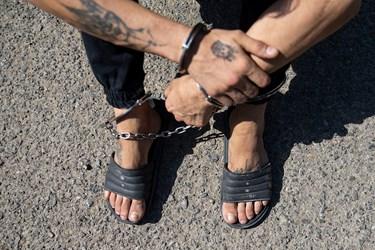 یکی از متهمین دستگیر شده در سومین مرحله  طرح کاشف پلیس تهران