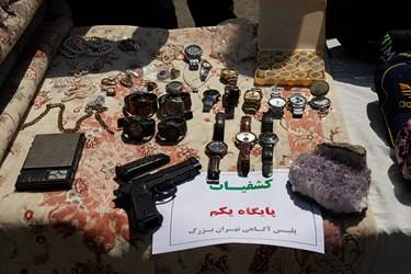 کشفیات سومین مرحله طرح کاشف پلیس تهران