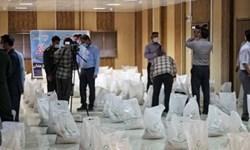 ۱۸۰ بسته معیشتی در بین کارگران توزیع شد
