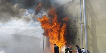 آتشسوزی در نیروگاه سیکل ترکیبی سمنان/ کسی آسیب ندید