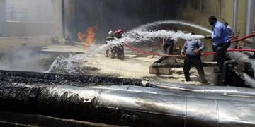 آتشسوزی در نیروگاه سمنان