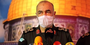 سرلشکر سلامی: طرح شهید سلیمانی تاثیری اعجازگونه در کاهش آمار مبتلایان و فوتیهای کرونا داشته است
