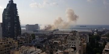 وقوع انفجار مهیب در بندر بیروت لبنان با 67  کشته و 3600 زخمی + فیلم