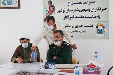 آغاز مرحله دوم رزمایش کمک مومنانه در نوشهر