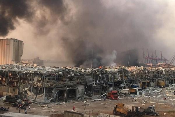 انفجار در بندر بیروت