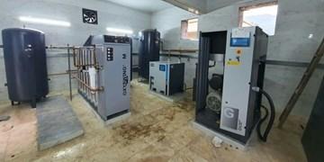 نصب دستگاه اکسیژنساز در بیمارستان شهدای زیراب سوادکوه