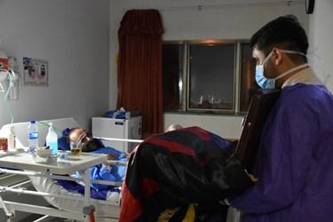 تقدیر و تشکر از کادر درمان بیمارستان امام خمینی شهرستان آمل