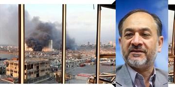 صدرالحسینی تشریح کرد؛ چه کسانی از انفجار بیروت منتفع شدهاند