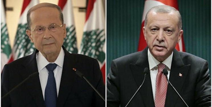 رئیسجمهور ترکیه به همتای لبنانی پیشنهاد کمک داد