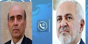 گفتوگوی تلفنی ظریف با همتای لبنانی/آمادگی ایران برای ارائه کمک به لبنان