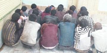 ۷۳ نفر معتاد متجاهر در پاکدشت جمعآوری شد