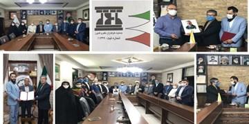 معارفه دبیرجمعیت طرفداران دفاع از نظم و قانون ماده ۱۰ احزاب مشهد