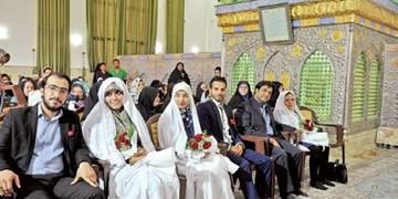 برپایی جشن عقد و تأمین جهیزیه 3 زوج سادات در امامزاده روحالله (ع)