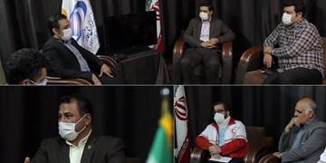 مدیران استان از دفتر خبرگزاری فارس در قم بازدید کردند