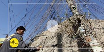 سرخط فارس| پای آمریکاییها روی کابل برق عراقیها