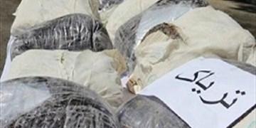 دستگیری ۴ سوداگر مرگ با ۱۵۵ کیلوگرم تریاک