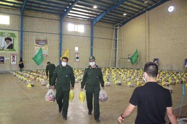تلاش پاسداران در رزمایش «کمک مؤمنانه» در شاهرود