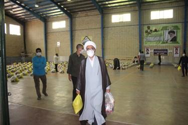 حضور روحانیان در رزمایش «کمک مؤمنانه» در شاهرود
