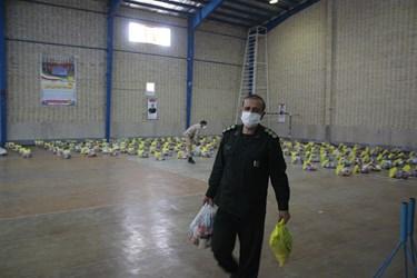 کمک فرمانده سپاه شاهرود در رزمایش «کمک مؤمنانه» در شاهرود