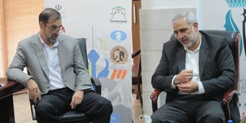 نشست سرپرست فدراسیون شطرنج با عضو کمیسیون امور داخلی در مجلس