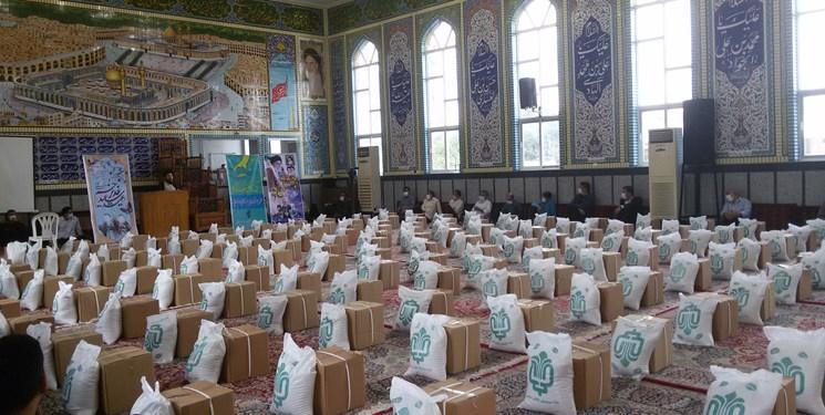 آغاز توزیع 4 هزار و 500 بسته معیشتی در مراغه/12 هزار پرس غذای گرم به همت گروههای جهادی