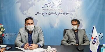 حضور مدیر کل تعزیرات حکومتی استان خوزستان در دفتر خبرگزاری فارس
