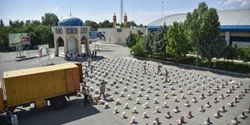 آغاز رزمایش سراسری مرحله دوم کمک مومنانه استان زنجان