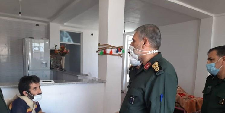 بهرهبرداری از خانههای ساخت سپاه در مناطق زلزله زده مسجدسلیمان