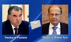 همدردی رئیس جمهور تاجیکستان با دولت و ملت لبنان