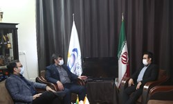 بازدید مدیرکل فرهنگ و ارشاد اسلامی قم از خبرگزاری فارس