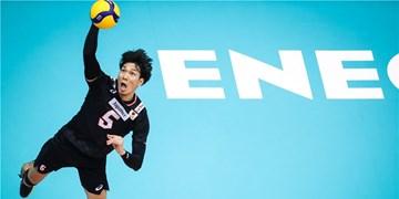 قرارداد ستاره تیم ملی والیبال ژاپن با پاریسوالی تمدید شد