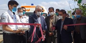 افتتاح دو پایگاه اورژانس در سرکان و فرسفج