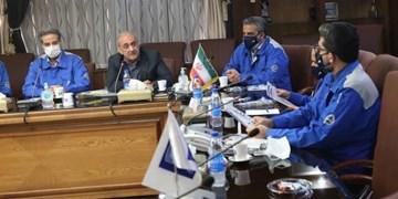 جلسه مدیر عامل و سرمربی پیکان با مسئولان شرکت ایرانخودرو