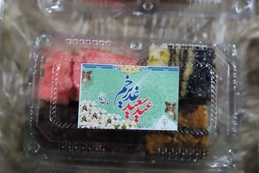 عکس | شب اول  مراسمات  عید  غدیر  -تهیه  کیک خانگی