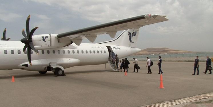 جابهجایی 5 هزار و 600 مسافر از طریق پروازهای فرودگاه سهند