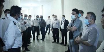 بررسی راهکارهای اطفای حریق در تئاترشهر با حضور مدیران ارشد سازمان آتش نشانی