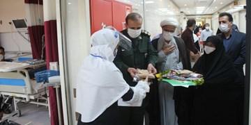 توزیع ۲ هزار بسته فرهنگی و میان وعده در بیمارستان شاهرود+ تصاویر