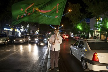 جشن خیابانی عید غدیر، خیابان شریعتی تهران