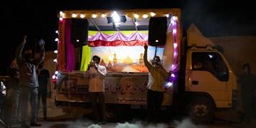 گزارش ویدیویی| شور و حال غدیری در دوران کرونایی