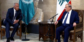 دبیرکل اتحادیه عرب در لبنان | دیدار با رئیسجمهور و رئیس پارلمان این کشور