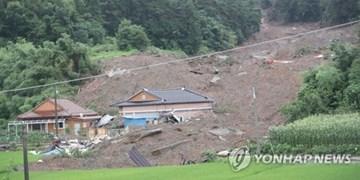5 کشته در کره جنوبی بر اثر رانش زمین